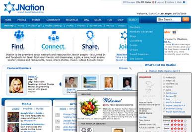 JNation Jewish Social Network