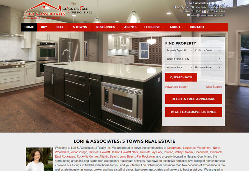 Lori Real Estate Website