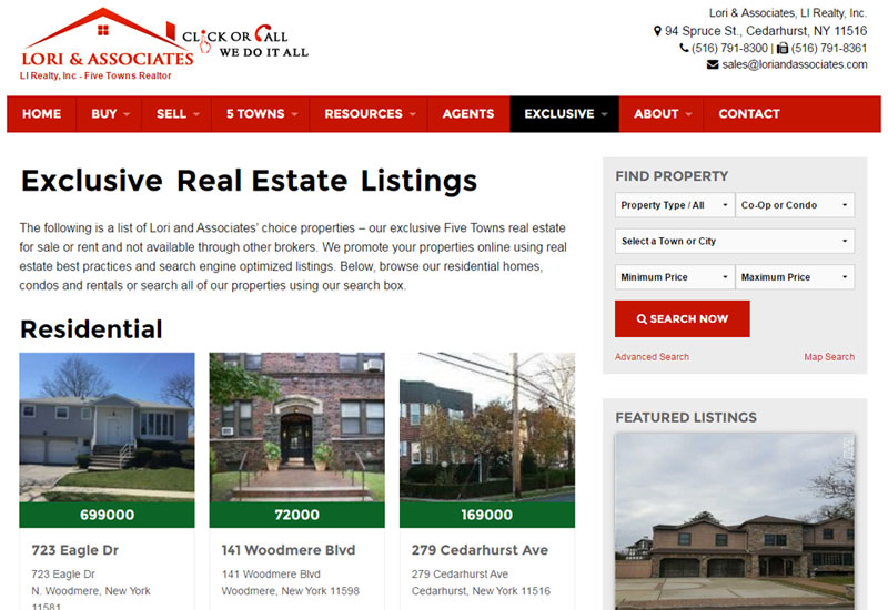 Lori Real Estate Listings