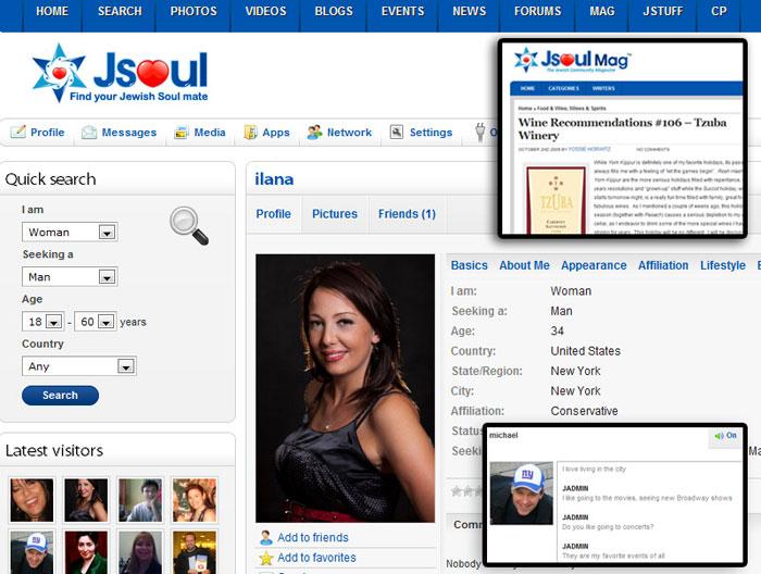 JSoul Online Jewish Dating
